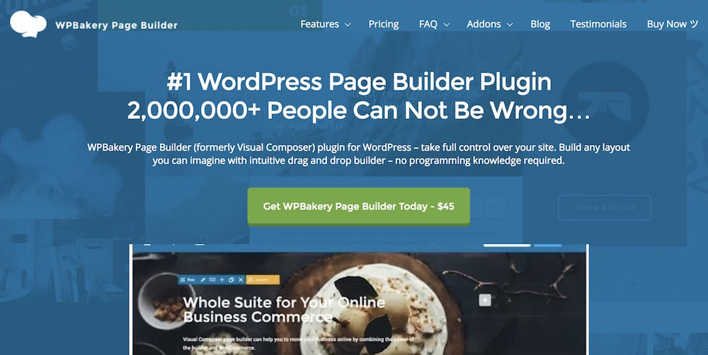 WPBakery Page Builder (formerly Visual Composer)
