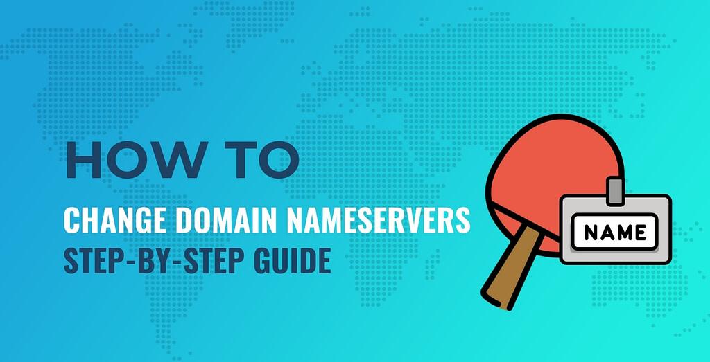 How to change domain nameservers