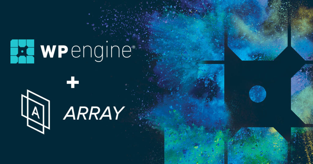wp engine and array themes