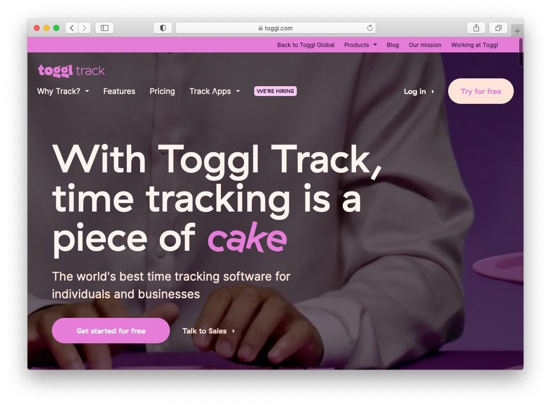 toggl is one of the best apps for freelancers