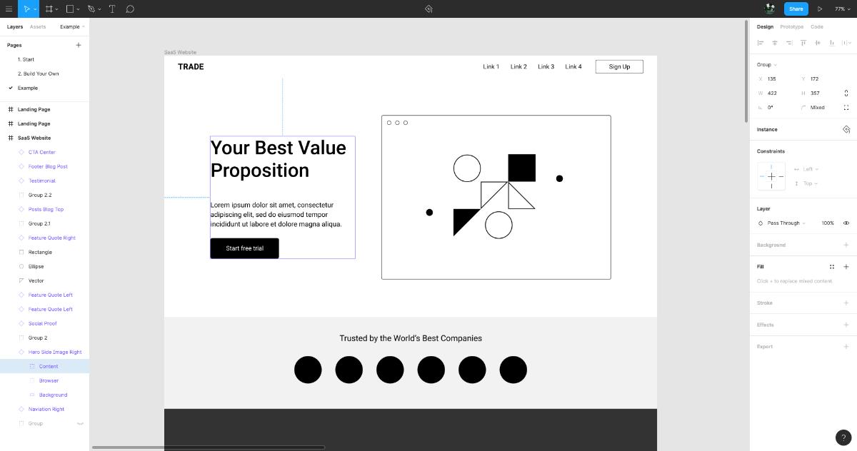 Figma free templates