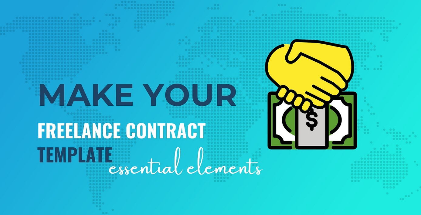Make a freelance contract template