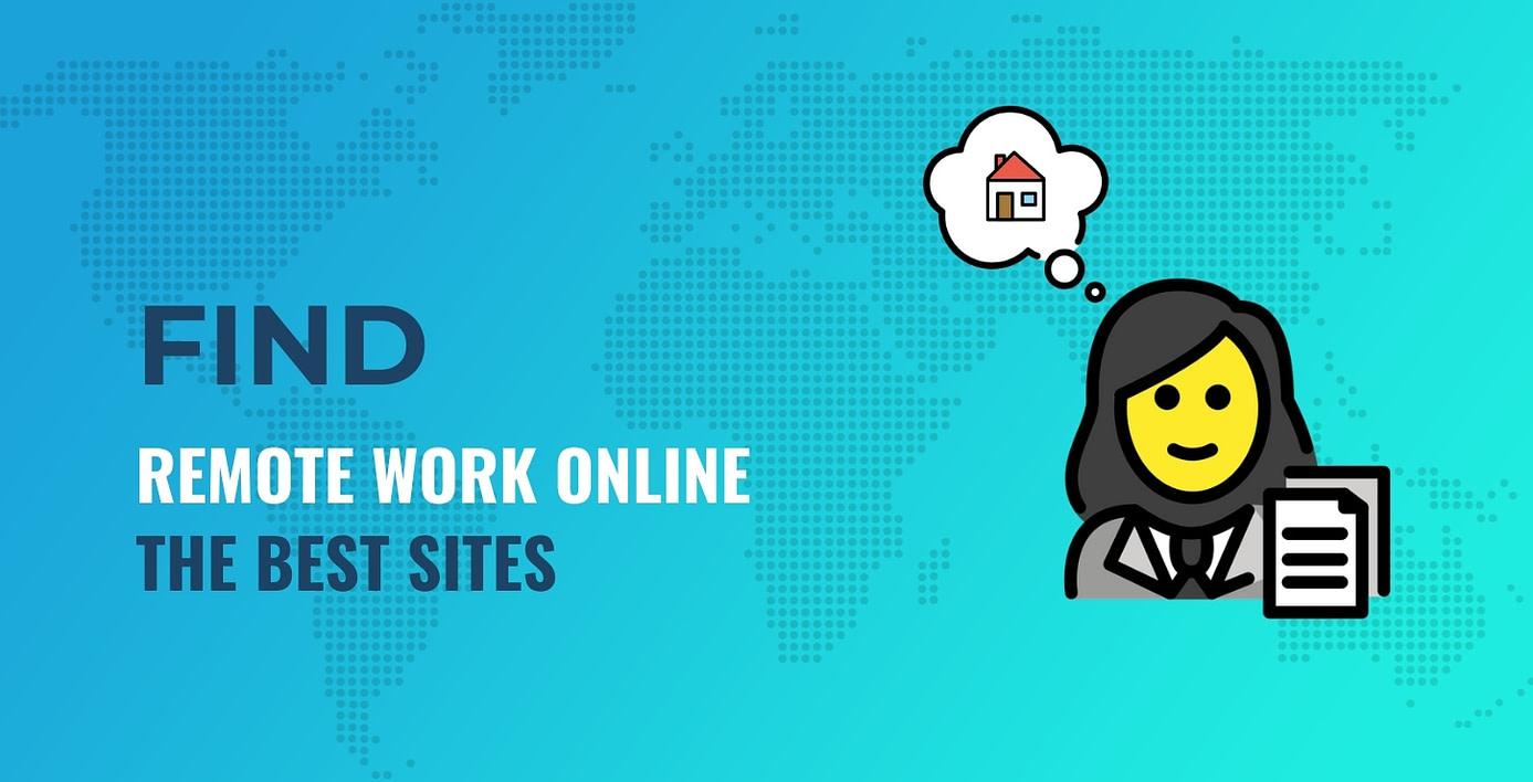 Remote work online