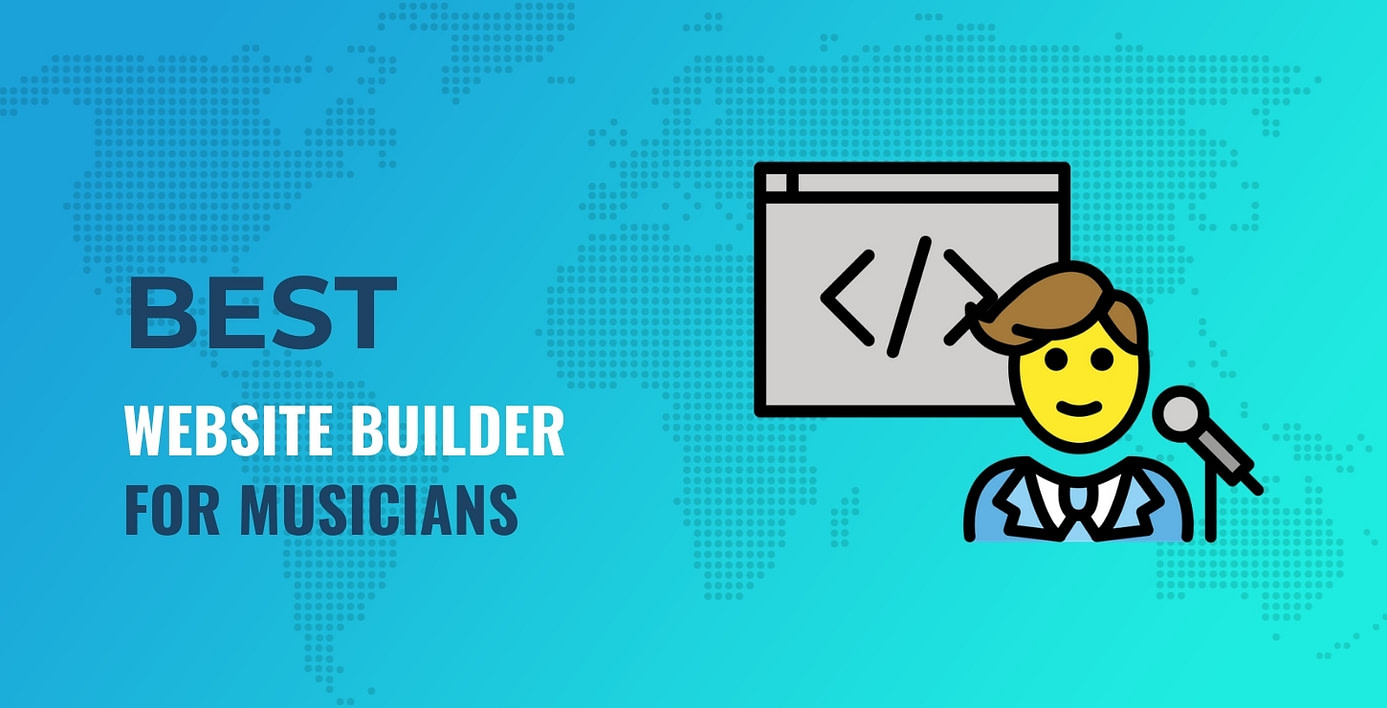 best website builder for musicians