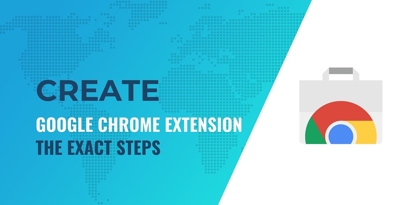 Create a Google Chrome extension