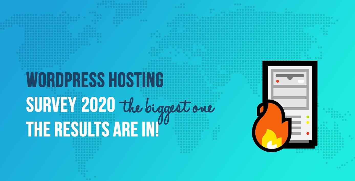 WordPress Hosting Survey 2020