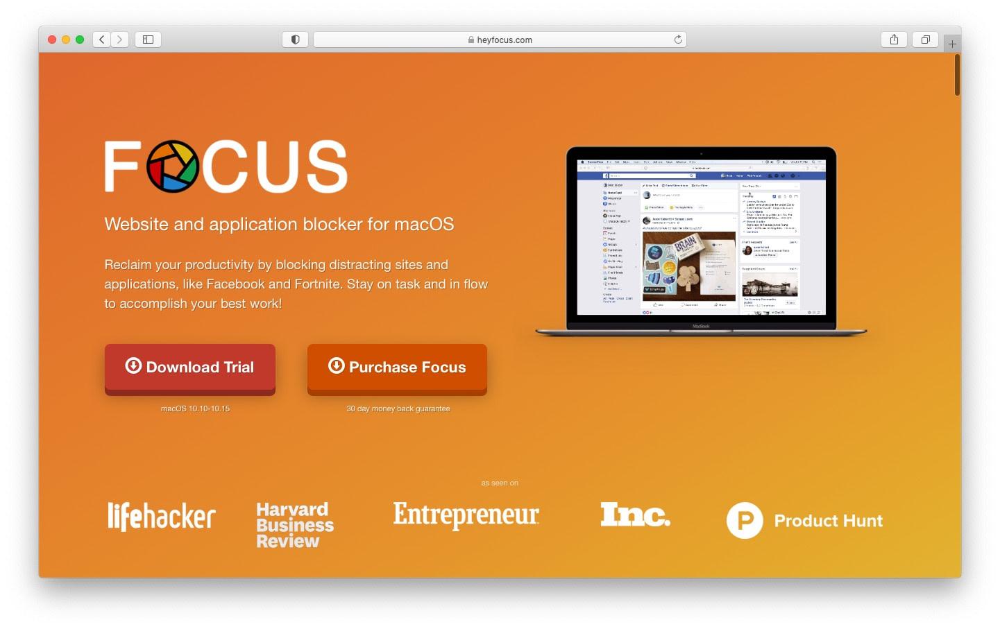 focus app