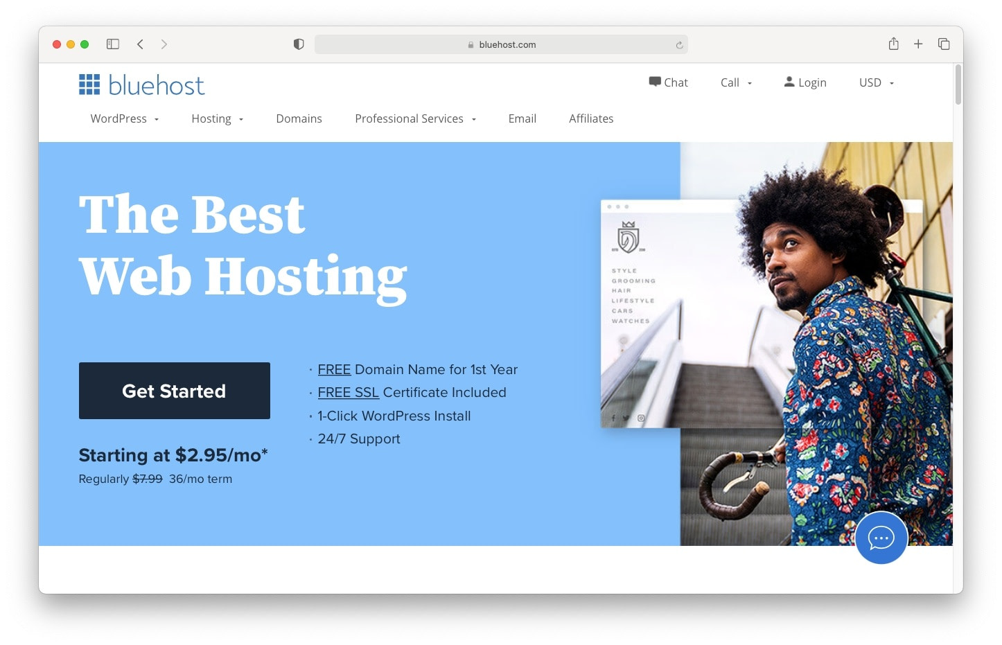 What is webhosting? Companies like Bluehost provide shared webhosting