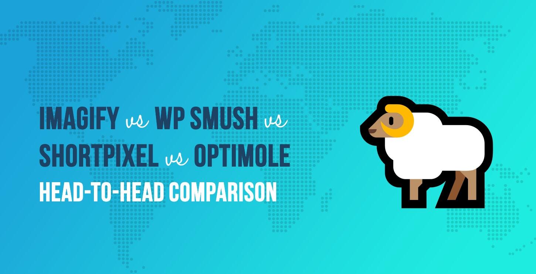 Imagify vs WP Smush vs ShortPixel vs Optimole
