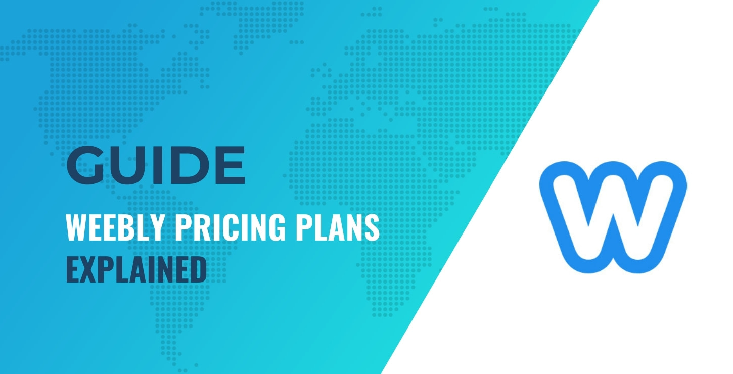 Weebly pricing explained