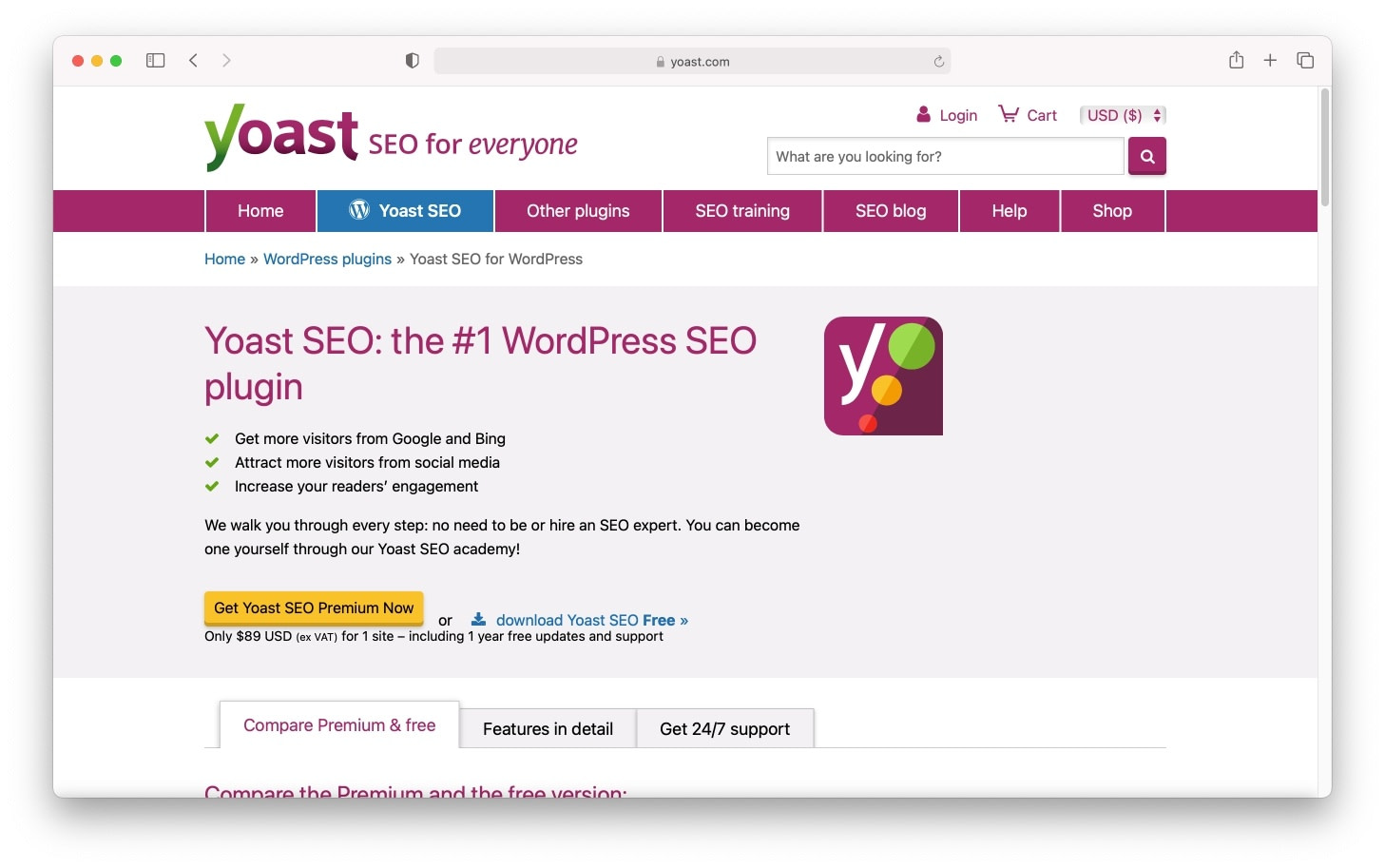 One of the most well-known SEO tools for WordPress: Yoast