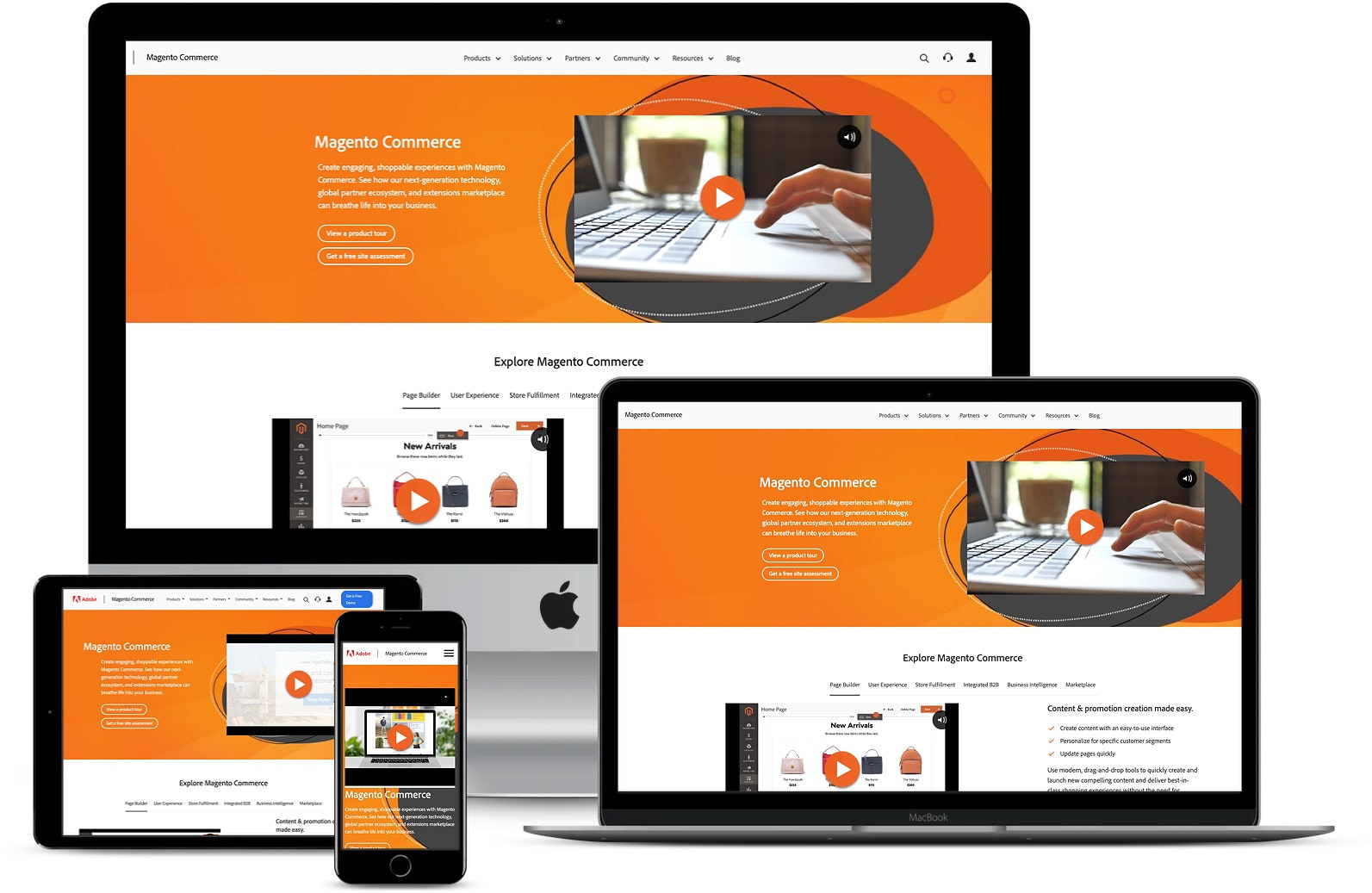 One of the best CMS: Magento