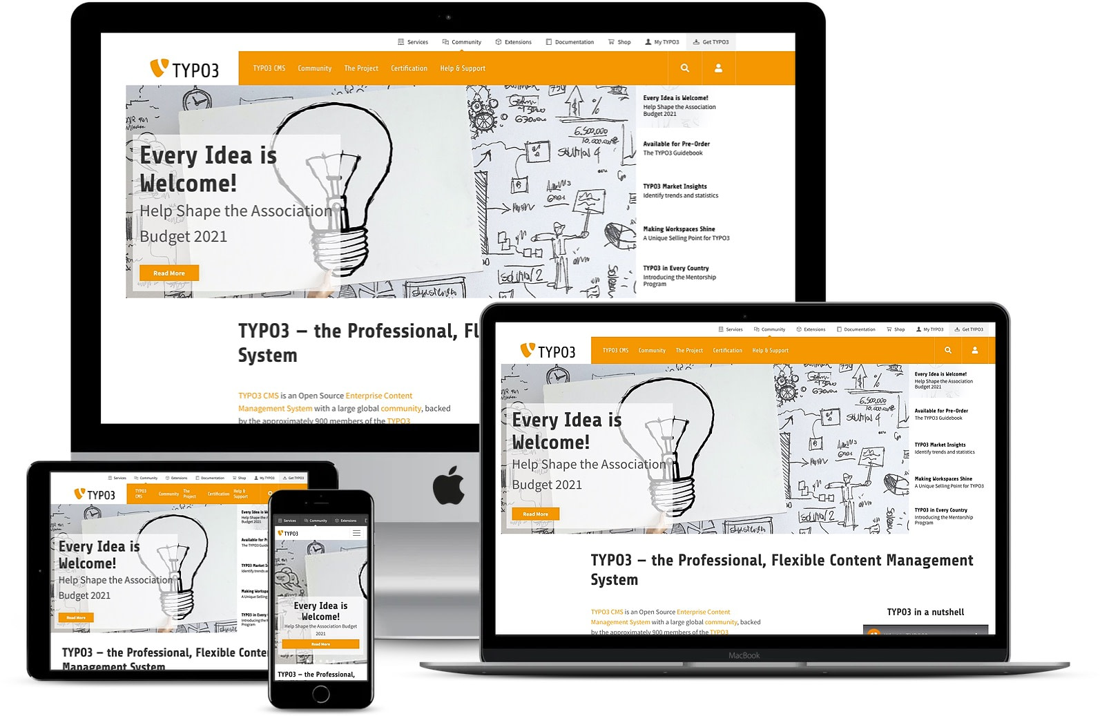 One of the best CMS: Typo3