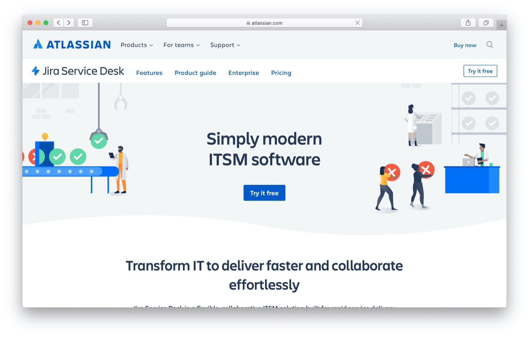 Best help desk software: jira service desk