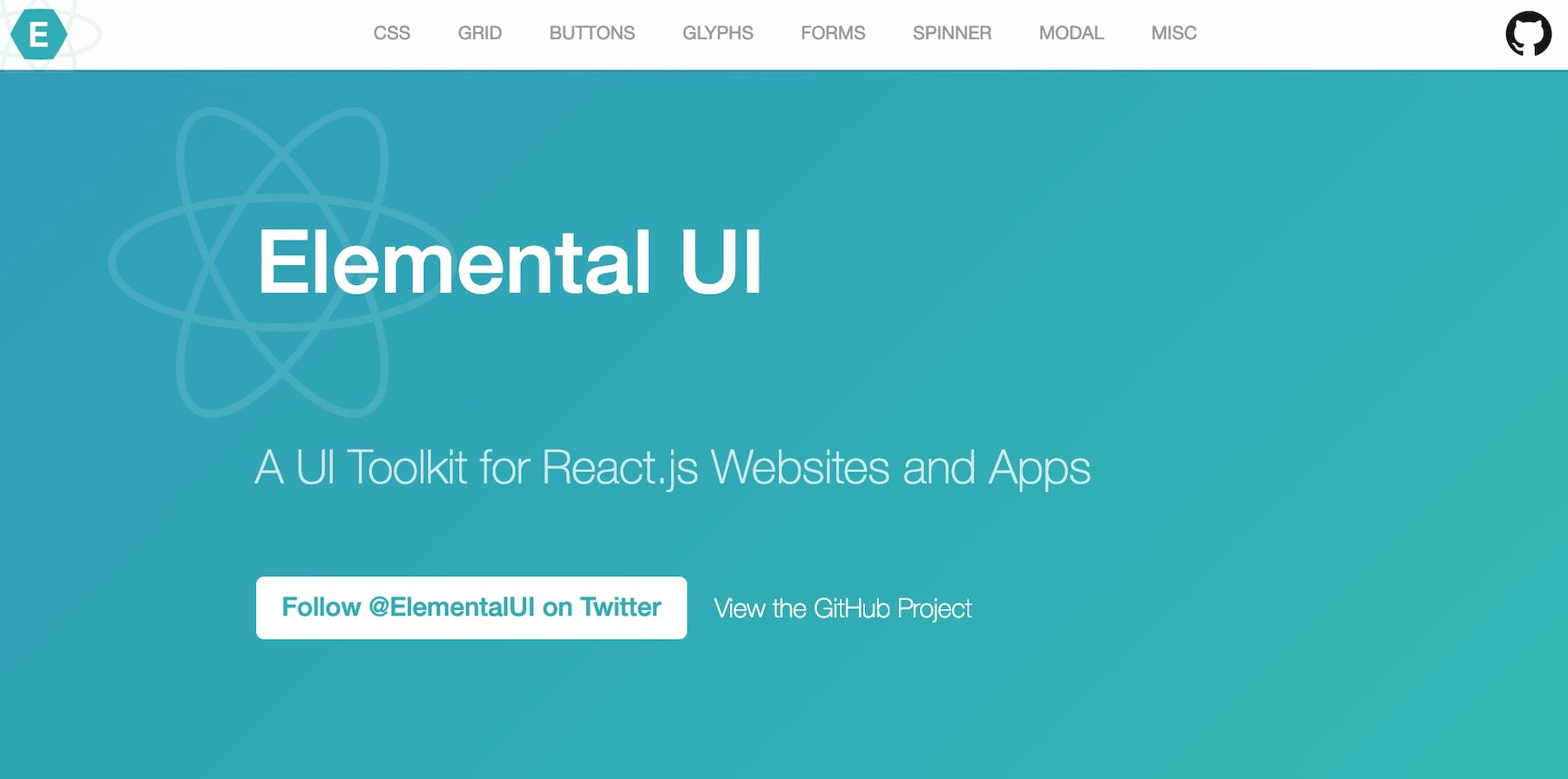 React UI component libraries: elemental-ui