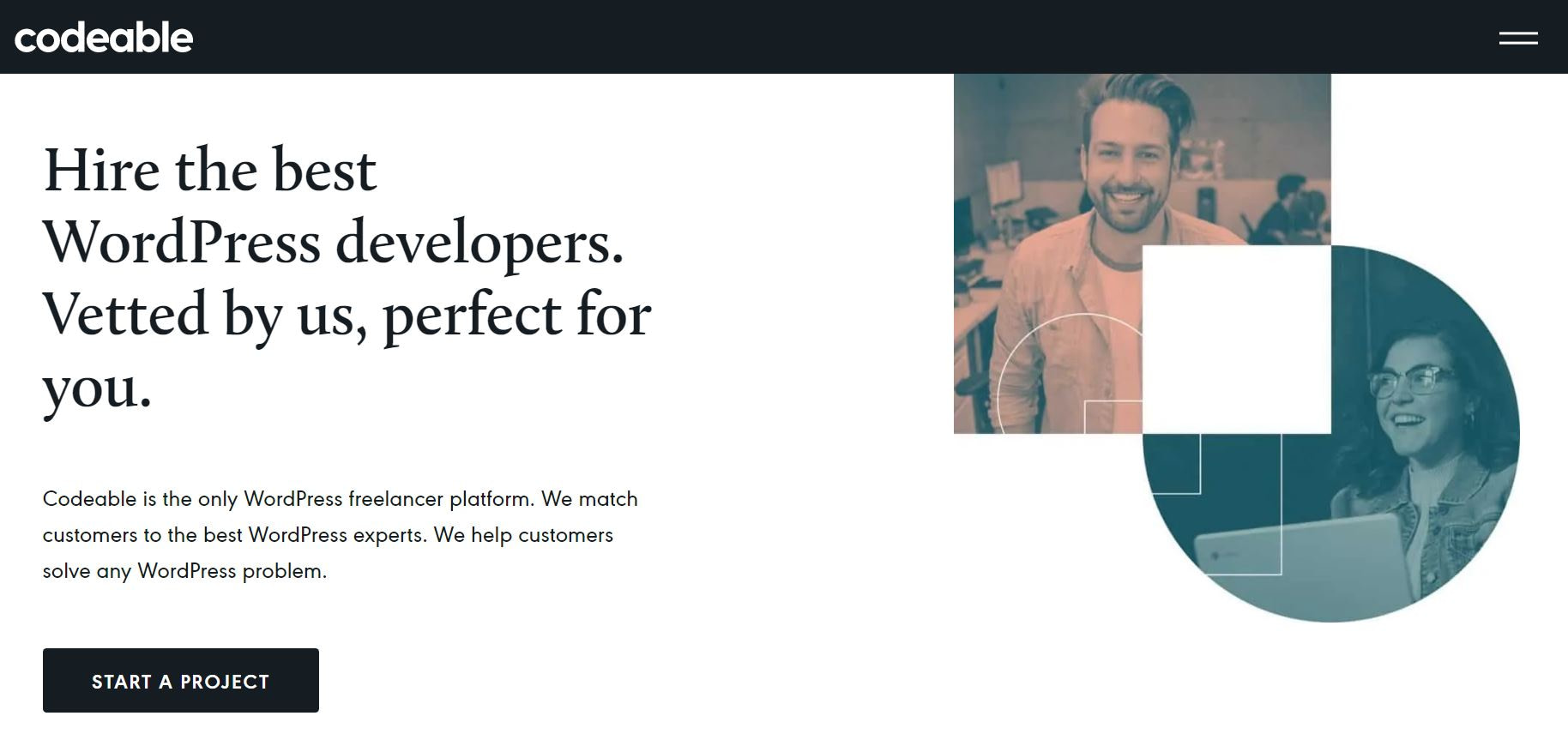 codeable hire WordPress developers