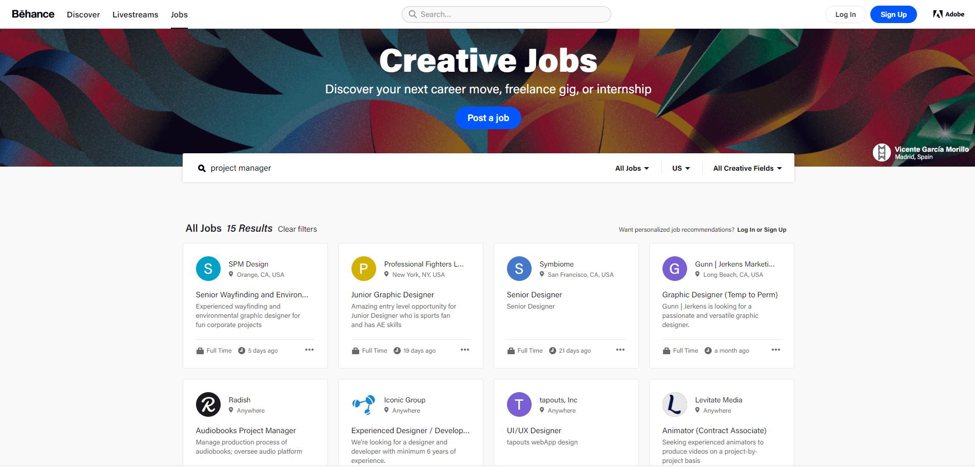 behance jobs