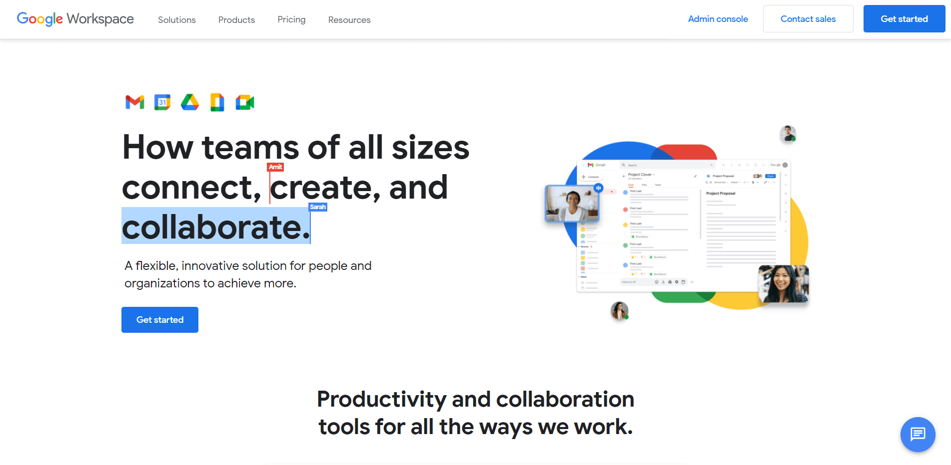 Google Workspace, one of the best business cloud storage options available.