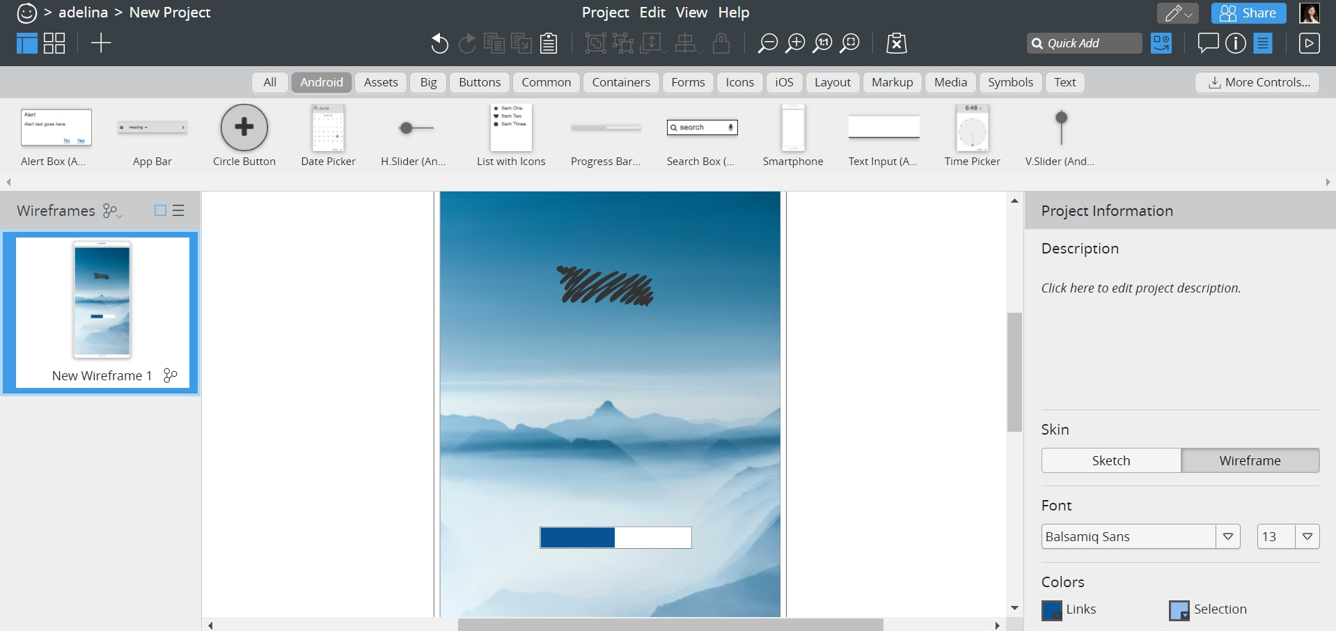 what are splash screens and how to build them with Balsamiq design tool