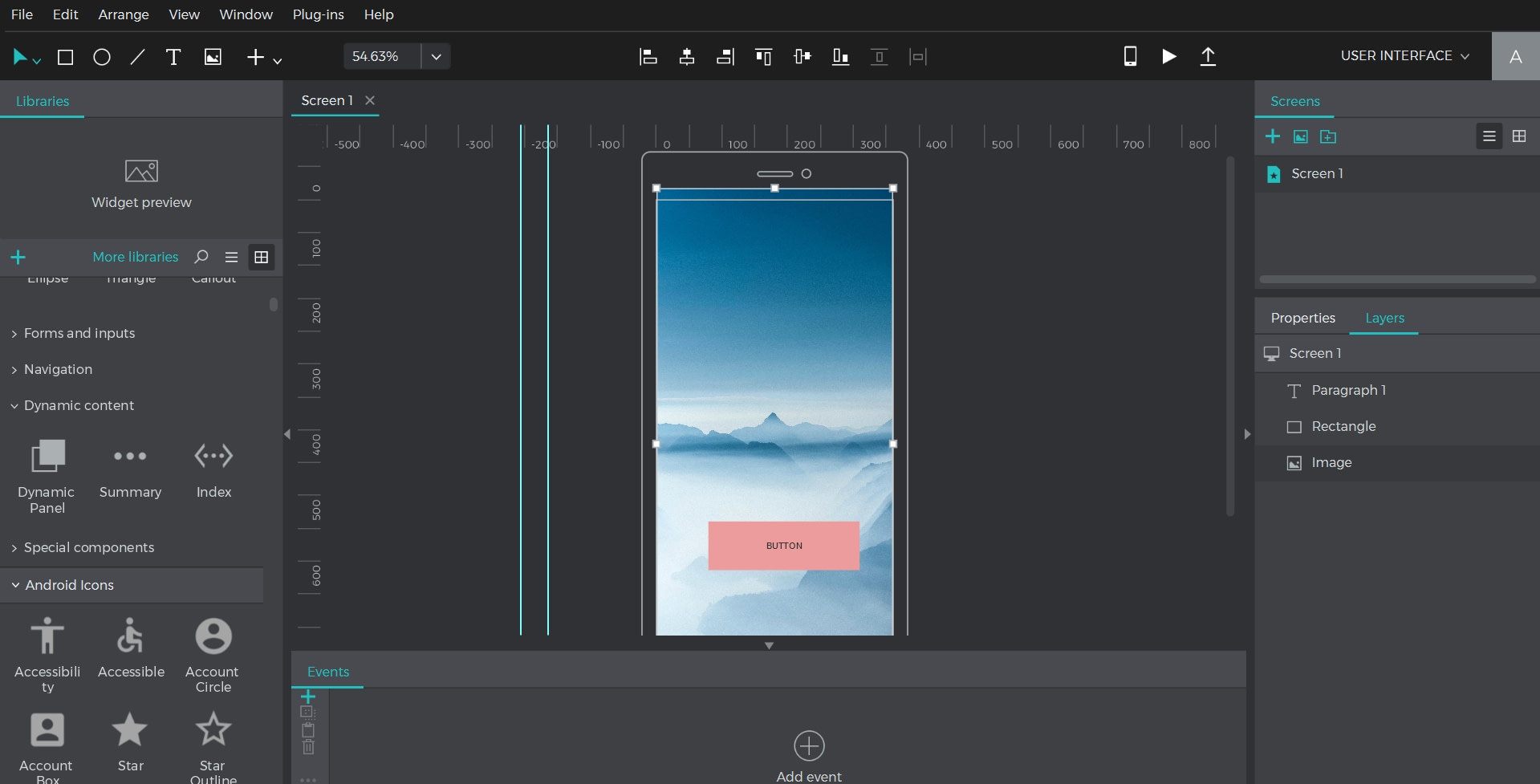 what are splash screens and how to create them with Justinmind tool