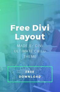 free divi layout mob