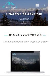 Himalayas on mobile