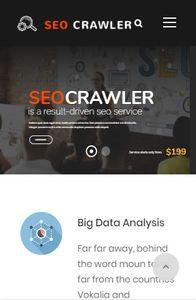 SEO Crawler on mobile