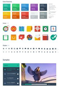 Flat UI on mobile