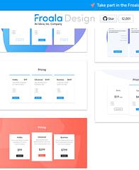 Froala Design Blocks on mobile