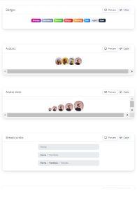 Soft UI Design System on mobile