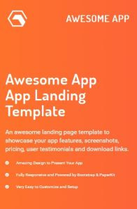 Awesome App on mobile