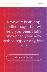 New Age on mobile