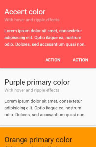 Vue Material on mobile