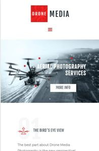 Drone Media on mobile