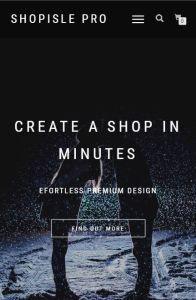 shopisle pro on mobile