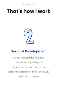 Flatkit CMS - UI Kit website template on mobile