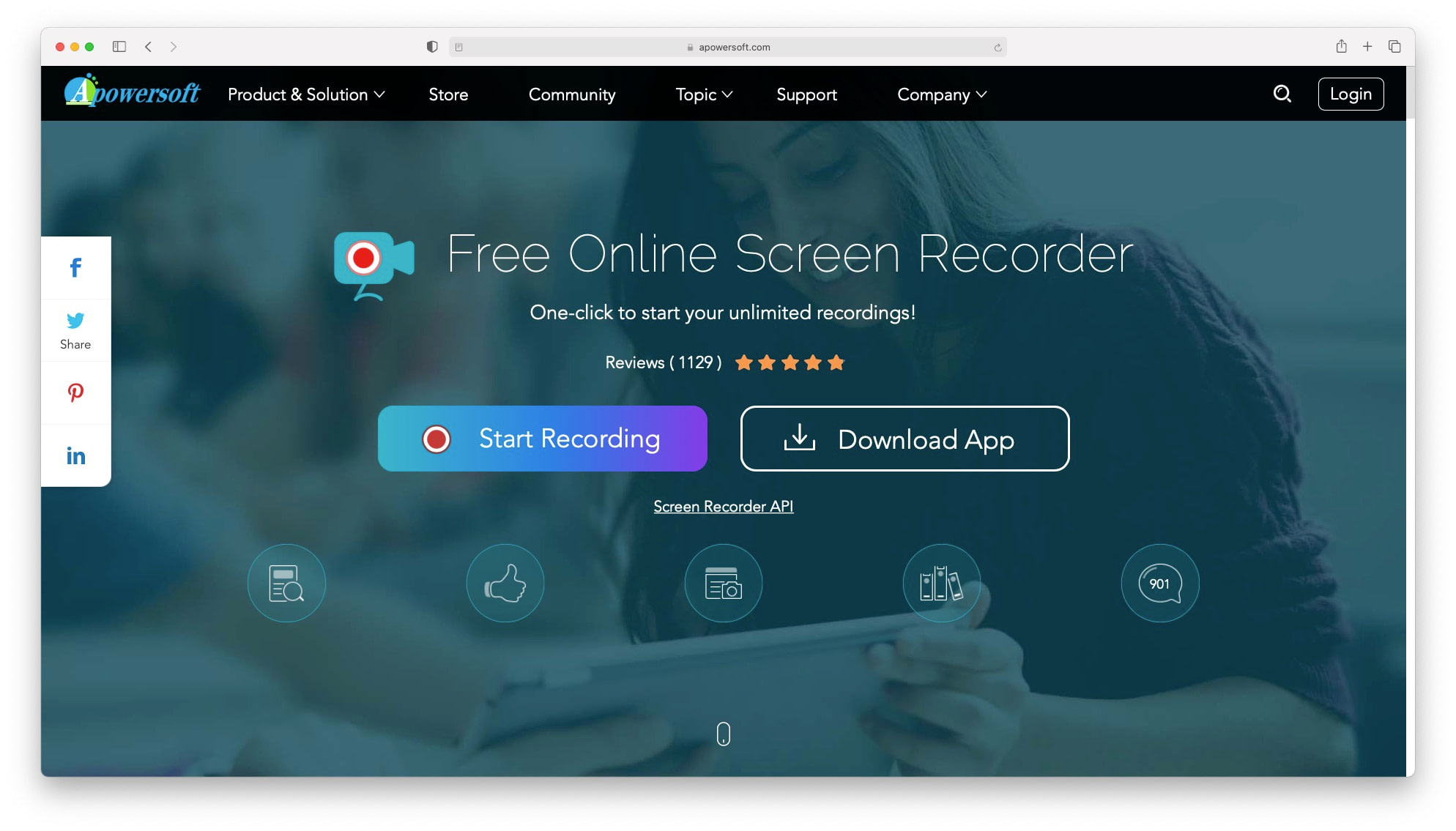 one of the best screen recording software - ApowerREC