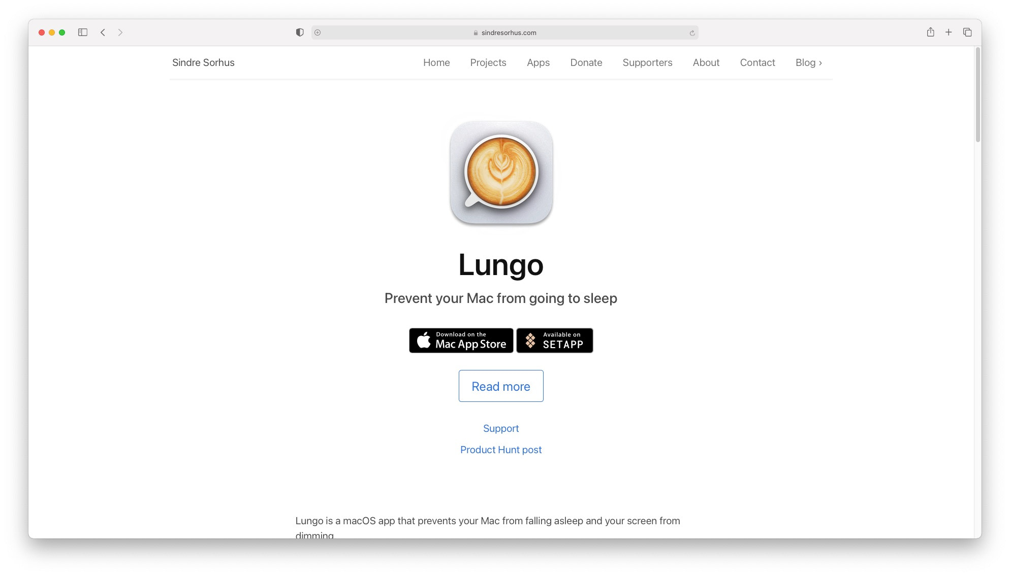 Best productivity apps for mac: Lungo