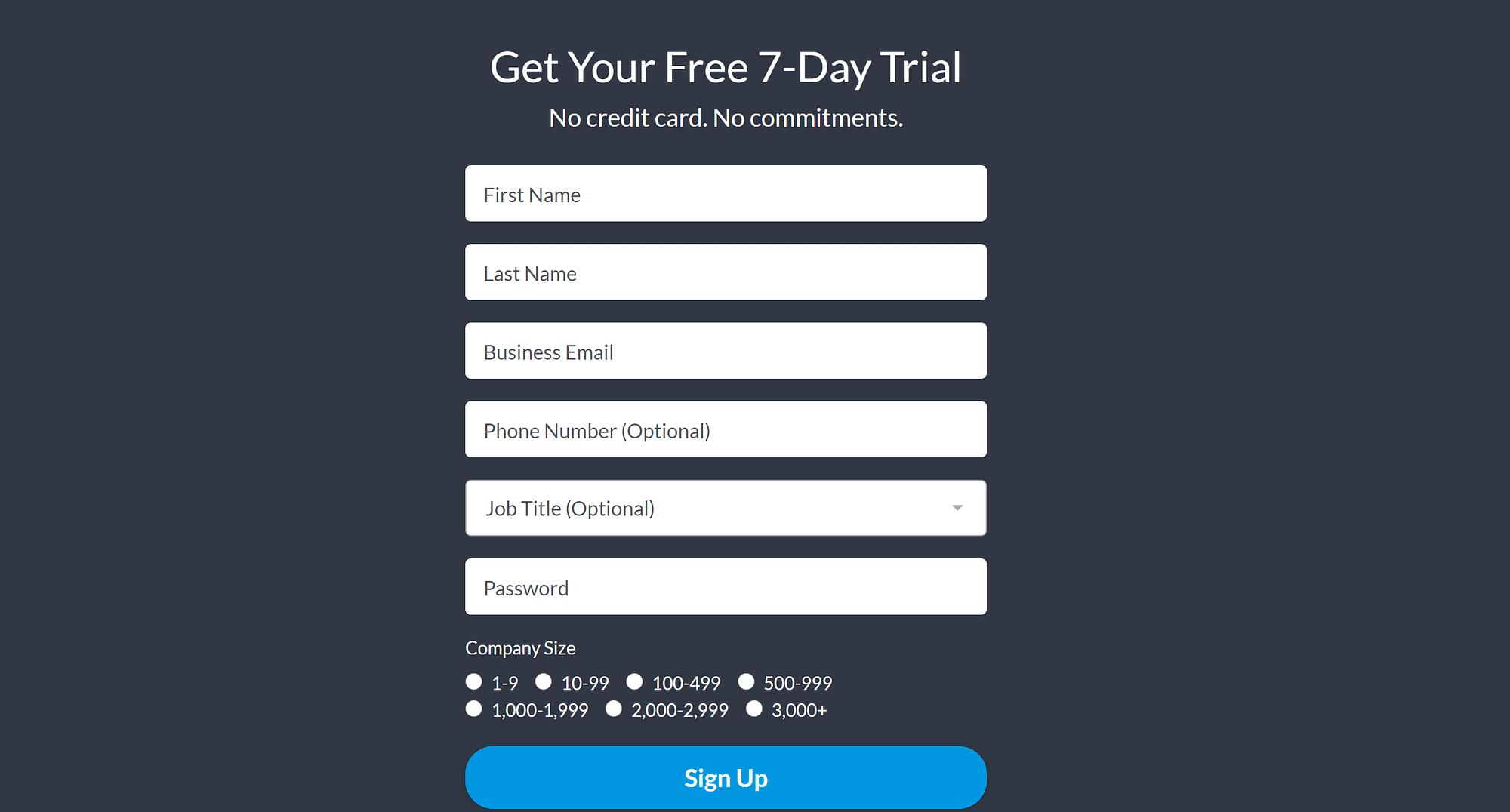 How to create a webinar with GoToWebinar: GoToWebinar signup