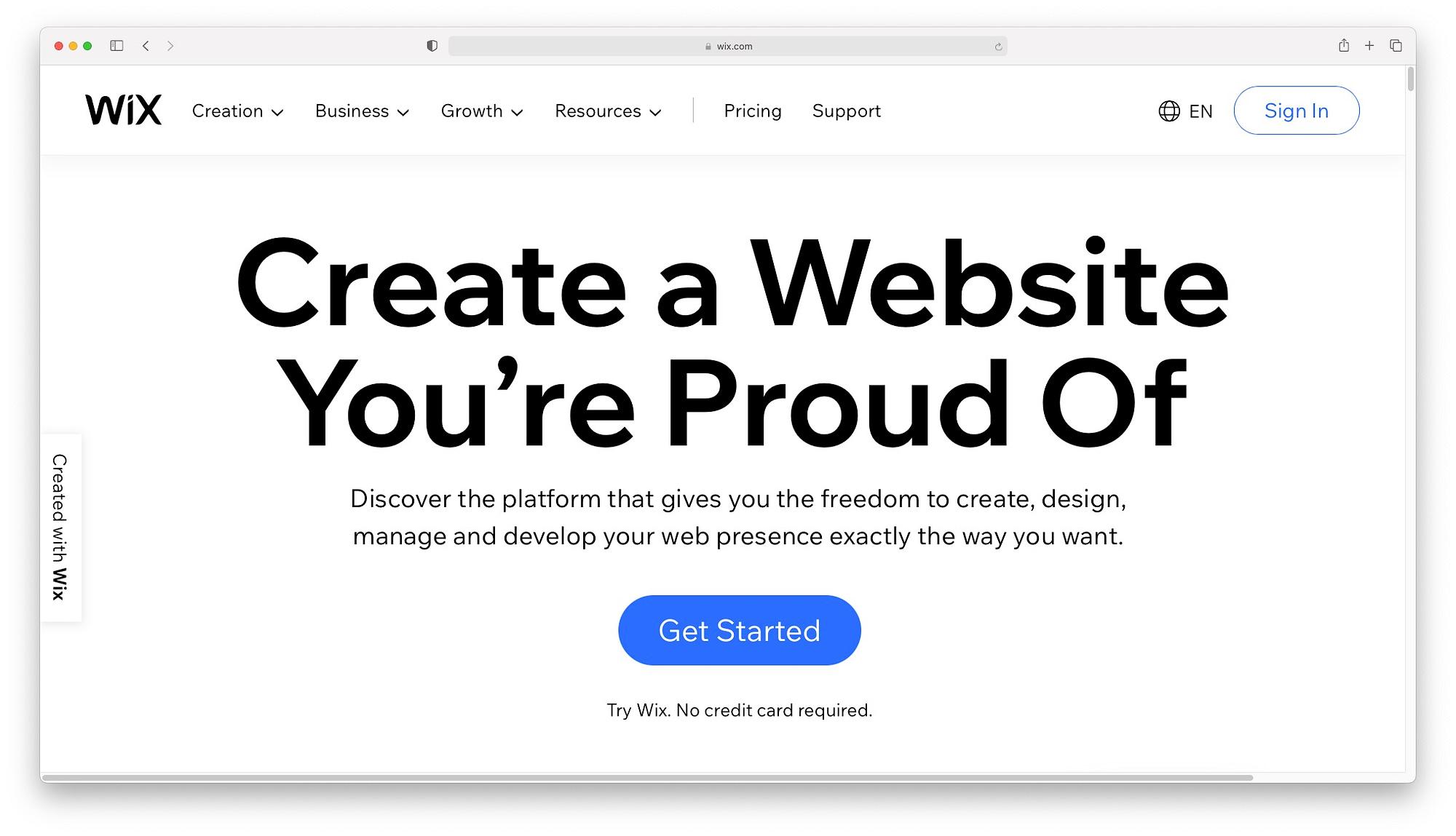 Wix - best drag and drop website builders