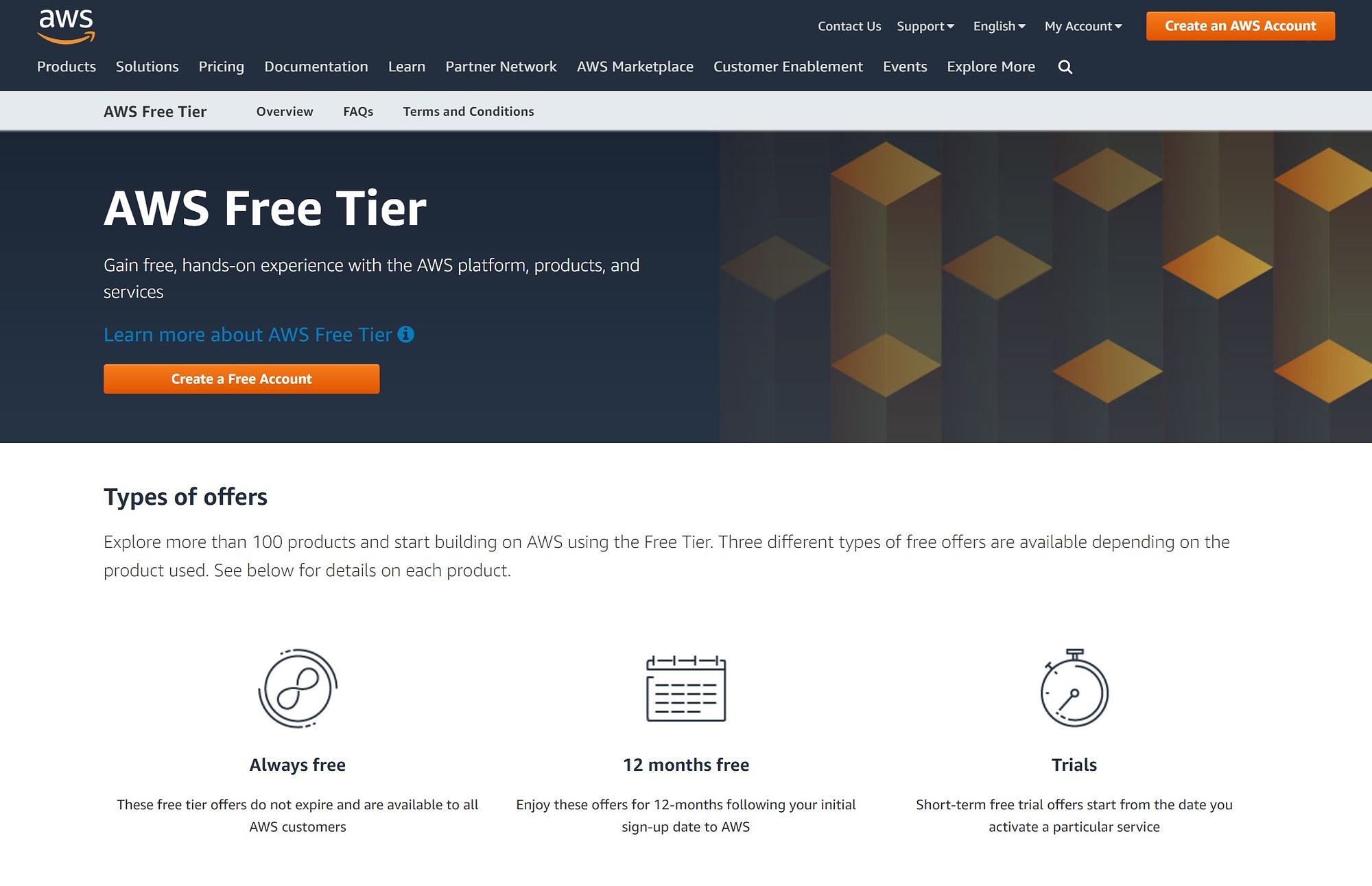 AWS free tier vs Google Cloud