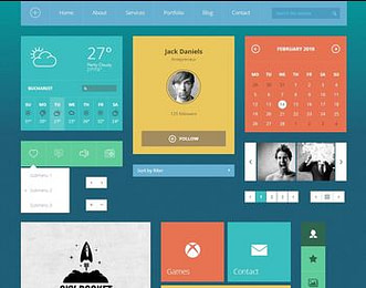 Modern Touch UI Kit view