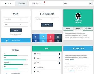 User Interface UI Kit view