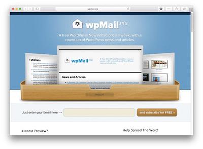 best tech newsletters #1: wpmail