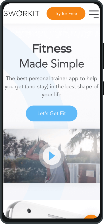 Sworkit one of the best fitness apps