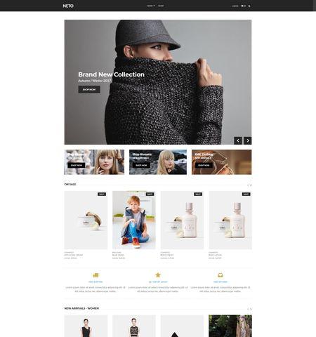 Best WooCommerce WordPress Themes: Neto