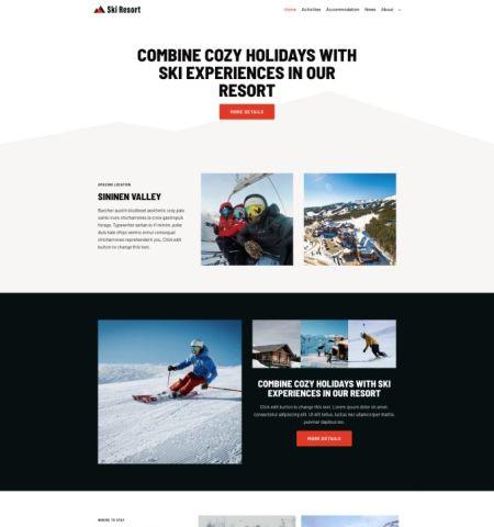 Neve Ski Resort Winter Hotel