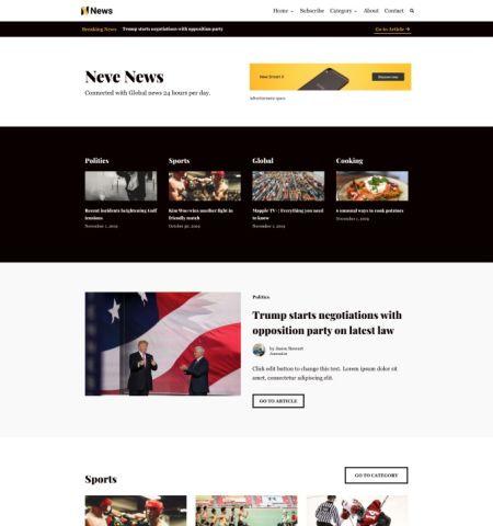 neve news magazine