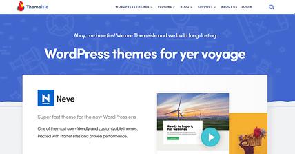 ThemeIsle Affiliate wśród najlepszych programów partnerskich dla WordPress dla motywów freemium