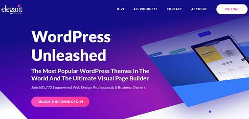 Elegant Themes to jeden z najlepszych programów partnerskich dla WordPress